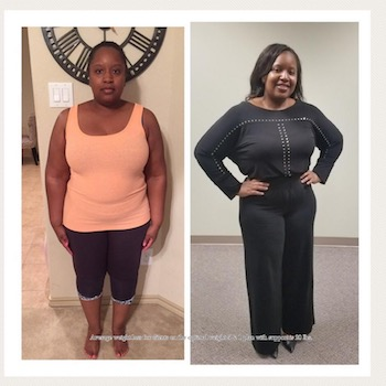 Check Out Timeka's Incredible Before & After!